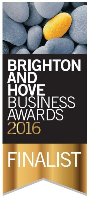 Finalist For Prestigious Brighton And Hove Business Awards
